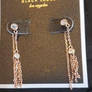 Juicy crystal tassel wishes earrings